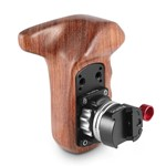 SmallRig 2118 Left Side Wooden Grip with NATO Mount